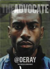 The Advocate Gay Magazine Deray McKesson Life Insurance After HIV Masculinity