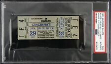 1971 Baltimore Bullets vs Cincinnati Royals Slabbed Full Ticket (PSA Authentic)