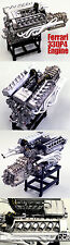 1/12 MFH HIRO  FERRARI 330P4  ENGINE MODEL STAND ALONE for TAMIYA DOYUSHA OTAKI