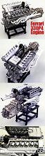 1/12 MFH HIRO  FERRARI 330P4  ENGINE MODEL STAND ALONE for TAMIYA DOYUSHA OTAKI