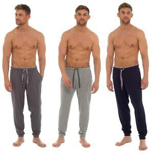Mens Lounge Pants Pyjama Jersey  Bottoms Trousers Night Wear M-XXL