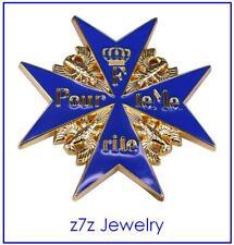 "THE BLUE MAX Lapel Pin - 1"" medal badge Germany ww1 ww2 Pour les Merite z7qq"