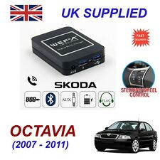 For Skoda Octavia Music Streaming Bluetooth Telephone Charger SD AUX CD Module12