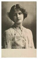 Antique printed postcard Miss Mab Paul actress theatre stage