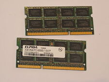 2gb Laptop Memory Memoria Ram Elpida ddr3-1066mhz 204-pin ebj21ue8bau0-ae-e I.o