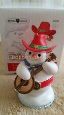 Hallmark artist Ed Seale Designs 2006 Cool Cowboy Snowman Characters Ornament