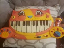 Toys Piano with Microphone Excellent Condition