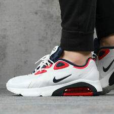 Nike Air Max 200 White Blue Red Men's Trainers Shoes RRP £109