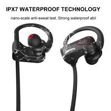 Wireless Bluetooth Sport Waterproof Headset Stereo Deep Bass Music Earphone Pro