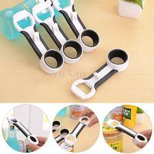 4 in 1 Can Bottle Cap Canning Lid Pop Beer Cola Tab Opener Comfort Grip Kitchen