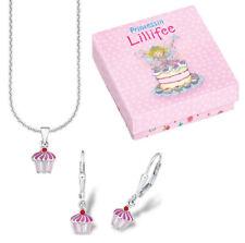 """Prinzessin Lillifee Set de bijoux """" Cupcake """" 515900 plfs / 29 argent 925"""