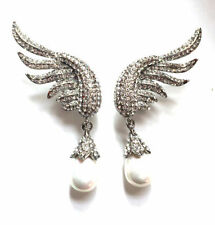 Butler & Wilson Pearl Drop/Dangle Costume Earrings