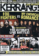 FOO FIGHTERS / MY CHEMICAL ROMANCE / TRIVIUM	Kerrang	no.	1186	24	Nov	2007