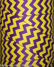 "5 Yds 1.5"" MULTI-COLOR LSU PURPLE YELLOW ZIG ZAG CHEVRON GROSGRAIN RIBBON 1 1/2"""