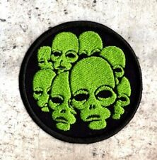 Group of Aliens Patch Iron and Sew on Patch