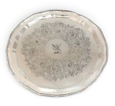 Matthew Boulton Sheffield Silver Rolled on Copper Serving Tray c1800, Hand Made