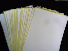 Etiketten weiß A5 96,5 x 42,3 mm NEU /& OVP 10Bl.=60Stk