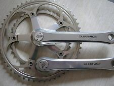 SHIMANO DURA-ACE FC-7402, 170mm, 52/39t, COLNAGO 35th CAPS, CRANK SET, VGC