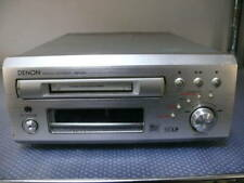 Denon Dmd-M50 Md Mini Disc Deck Player Recorder Used Power Supply Voltage 100V