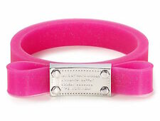 Marc by Marc Jacobs Bracelet Jelly Bow Bangle Pink NEW $58