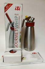 iSi Gourmet Whip Plus 1 Pint Stainless Steel  Pre-Owned