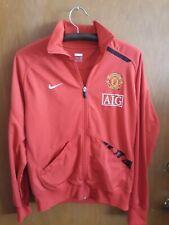 Manchester United Nike Full Zip Training Club Jacket Men's M AIG Windbreaker