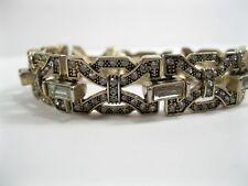 J. Crew Rhinestone Bracelet Art Deco  J Crew