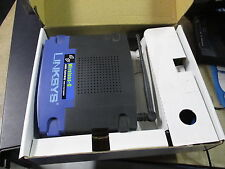 Linksys WAG54G v2 54Mbps ADSL2 VPN Wireless Router 802.11g Antenna + BOX & PSU