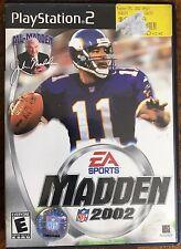 Madden NFL 2002 (Sony PlayStation 2, 2001)