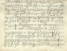 Spartito La Giocosa Polka per Chitarra di A. Capurro Ridotta per Pianoforte 1880