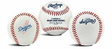 1 Los Angeles Dodgers Team Logo Ball Mlb Baseball Rawlings
