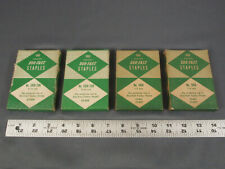 """Vintage Staples Duo-Fast 2000 x 5016 1/2"""" and 2000 x 5019 CXR 9/16"""" for Tacker"""