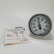 Wika 5231.01/100/-30-+50 Temperature gauge A5500/4 NG100 -30 to 50C New NFP
