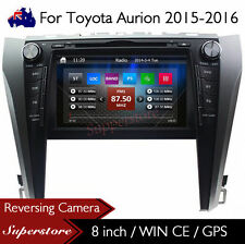 "8"" Car CD DVD Player Nav GPS Stereo Radio For Toyota Aurion 2015-2016"