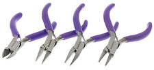 Mini Pliers Set Round Chain Cutter Flat (3in) 4pc