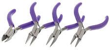 Mini Pliers Set Round Chain Cutter Flat (3in) 4pc