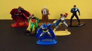 Jada Toys BATMAN NANO METALFIGS Loose Figures DC Comics