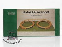 NOCH 53003 (LA36423) HOLZ-GLEISWENDEL H0 Bausatz R 360/420 RAMPA DE SUBIDA