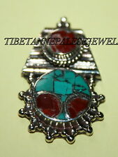 Nepalese Turquoise spacer Necklace Spacer Nepal spacer beads tibet spacer sp20