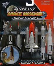 NASA Space Shuttle Discovery Rocket 5 pc Set Gemini Saturn V Mercury Redstone