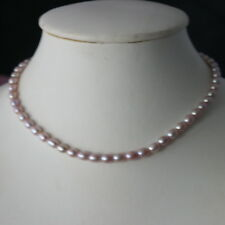 """Nice Necklace With Freshwater Bronze Pearls 14"""" Inches Long  In Gift Box"""