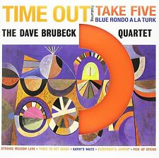 Dave Brubeck TIME OUT (DOL705MB) 180g DOL Take Five NEW ORANGE COLORED VINYL LP