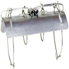 ALEKO Tunnel Mole Trap Animal Trap Galvanized Steel