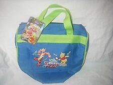 DISNEY TIGGER AND POOH KIDS GARDEN TOTE WITH HANDLES LOOP CLOSER NEW WITH TAG