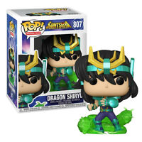 Funko Pop! Animation: Saint Seiya- Dragon Shiryu #807 Vinyl Figure