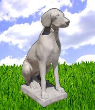 Steinfigur Hund Figur Labrador 70cm Steinguss Gartenfigur Bayern BLACKFORM