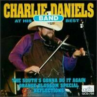 THE CHARLIE DANIELS BAND - AT HIS BEST USED - VERY GOOD CD