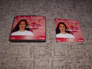 Andrea Jürgens DIE SCHÖNSTEN LIEBESLIEDER auf 5 CDs + Booklet !