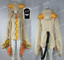 Blazblue Taokaka No 002 Japanese Anime Beige Halloween Suit Cosplay Costume J001