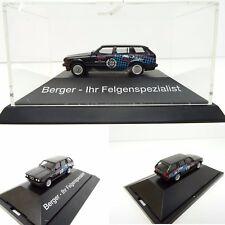 Herpa  1/87 BMW E30 325i Touring Berger Ihr Felgenspezialist OVP C3073